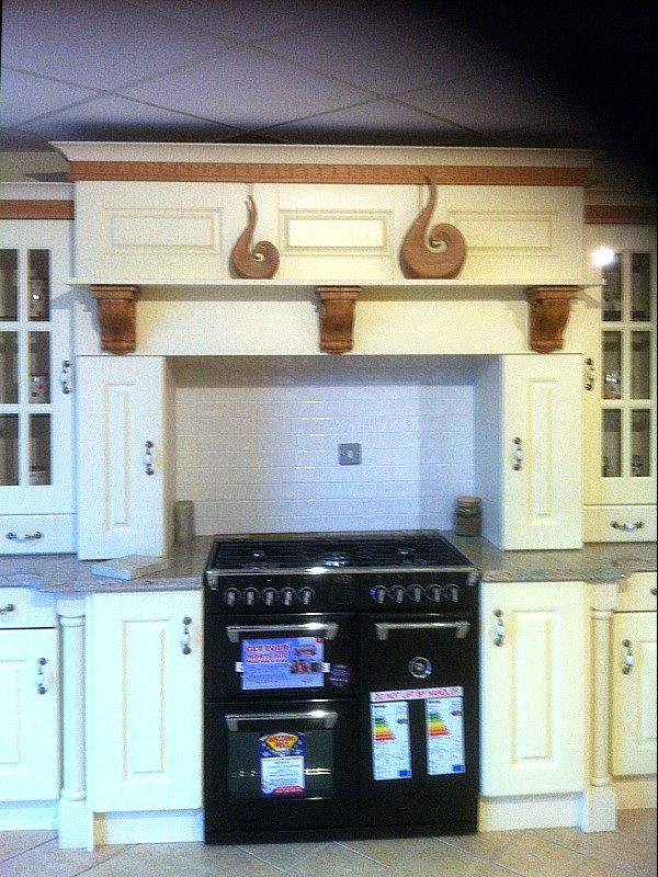 kitchen donegal hand painted in frame kitchens designed and fitted