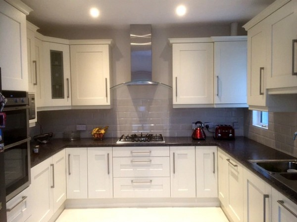 Hand Painted Ivory Kitchen Designed And Fitted By Barret Kitchens,  Letterkenny, Co. Donegal