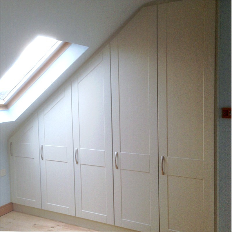 Attic Bedroom Fitted Furniture Letterkenny Wardrobes