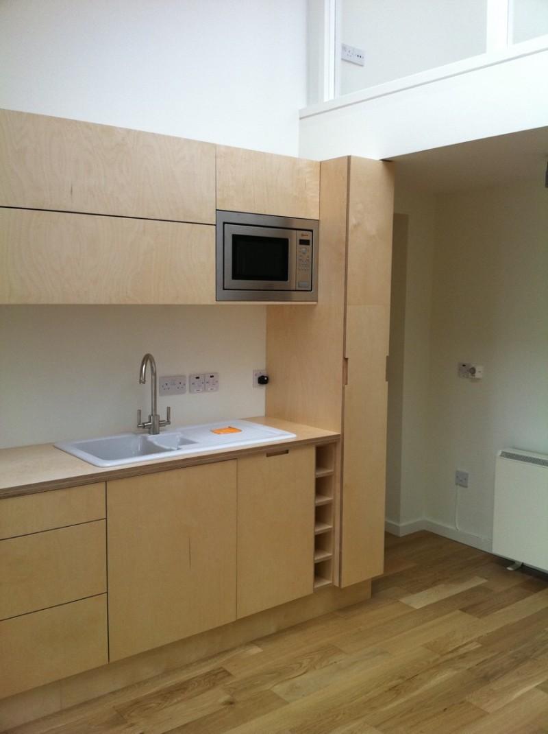 Natural Birch Plywood Kitchen By Barrettkitchens Milford